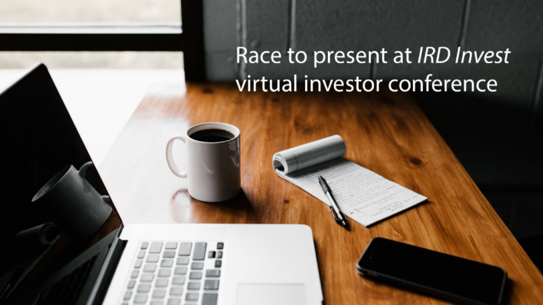 Race to present on 29 July at IRD Invest